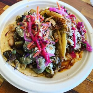 dos tierras tacos thorn brewing