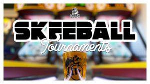 skeeball tournament poster