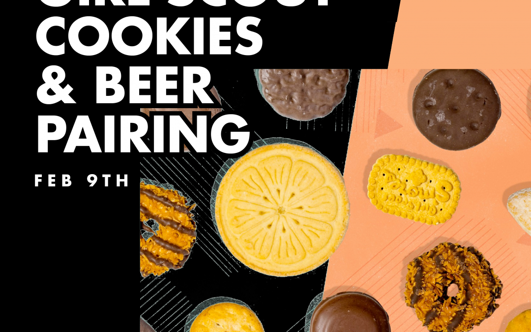 Girl Scout Cookie & Beer Pairing Thorn Barrio Logan