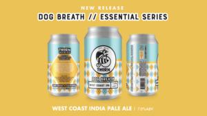 three views of dog breath beer