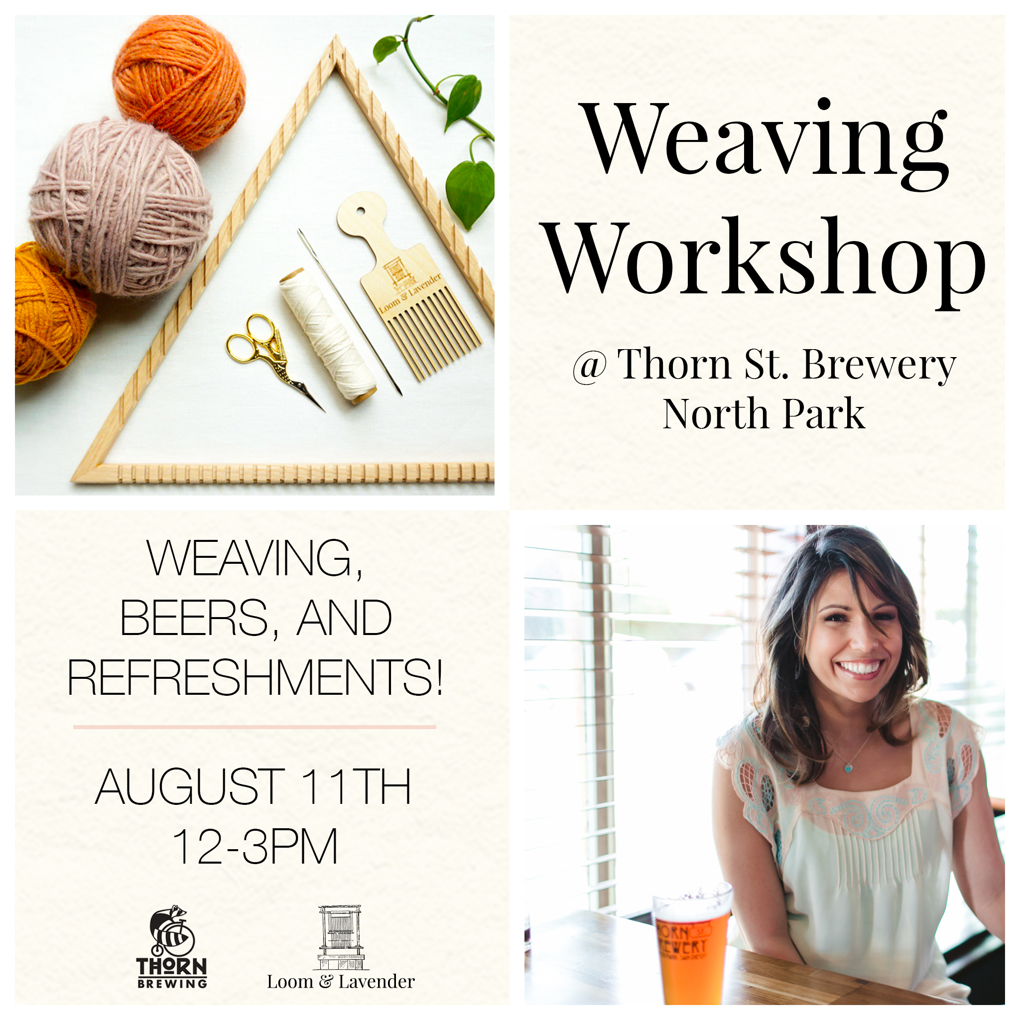 thorn brewing weaving workshop